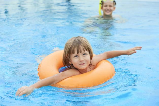 Wznowiono zajęcia dla dzieci w Aquaparku.