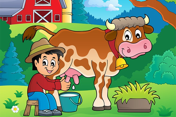 15.04.2021 Czwartek: Krowy i krówki