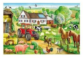 06.04.2021 WTOREK: Grześ polubił wieś.
