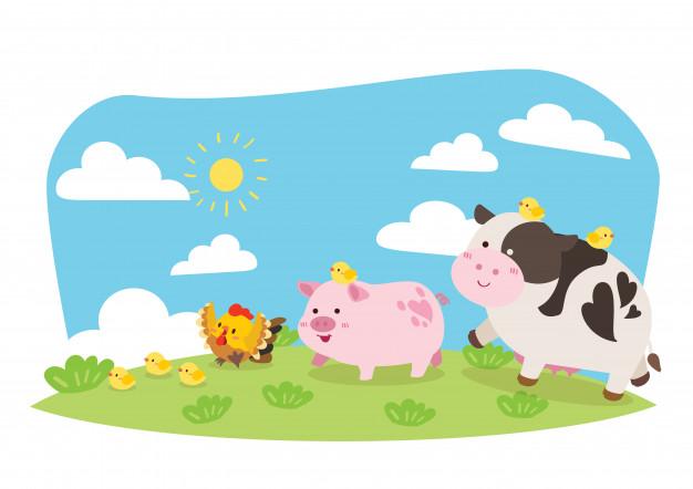 14.04.2021 Środa: Zwierzęta na wsi.